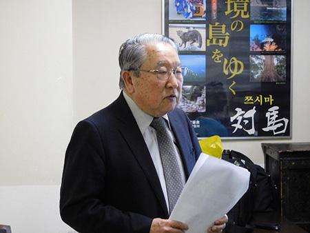 長崎県人クラブ事務局長